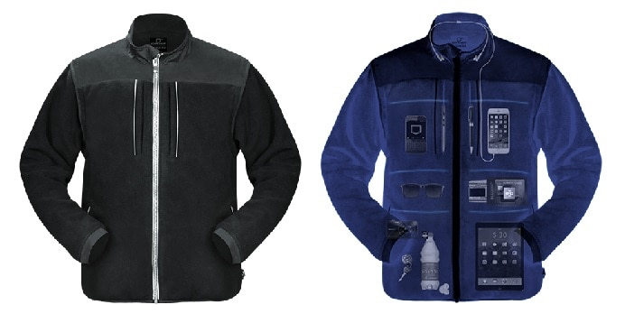 Best Gifts for Travelers Scottevest Fleece jacket