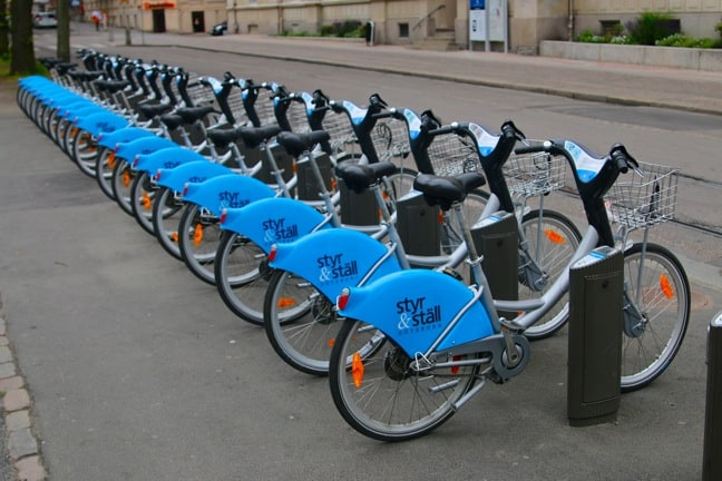 Styr & Ställ Self-Service Bicycle Rentals  in Gothenburg, Sweden