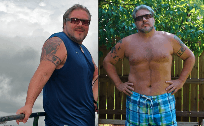 Bret Love Before and After Diabetes Diagnosis