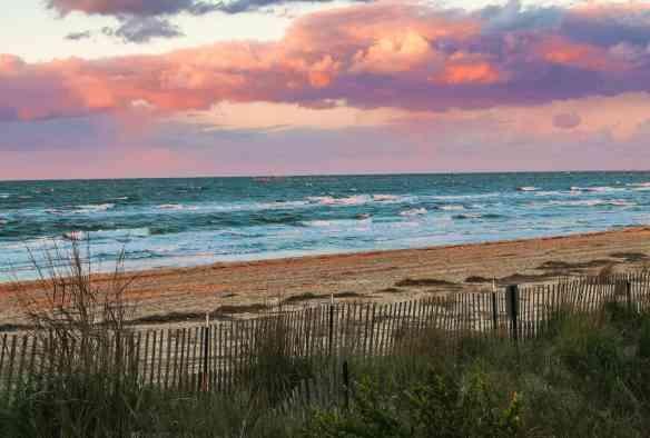 Sunset on Chesapeake Bay, Virginia Beach