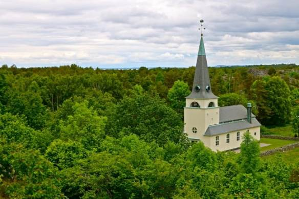 Sweden's Westernmost Church, on South Koster Island