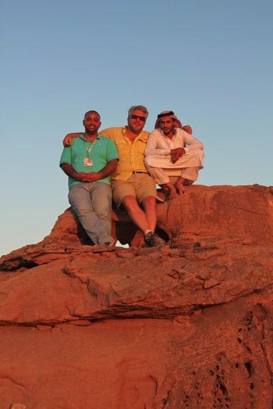 Sunset Over Wadi Rum, Jordan