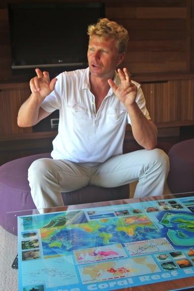 Marine Biologist Oliver Martin, Four Seasons Bora Bora