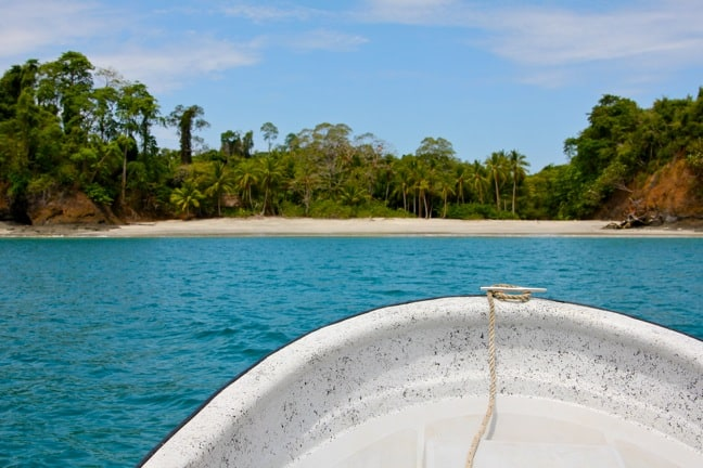 Private Island at Islas Secas, Panama