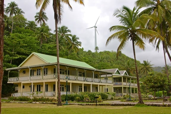 Rosalie Bay Resort Eco Lodge, Dominica