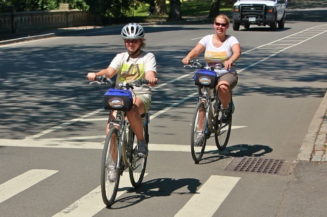 Biking Central Park
