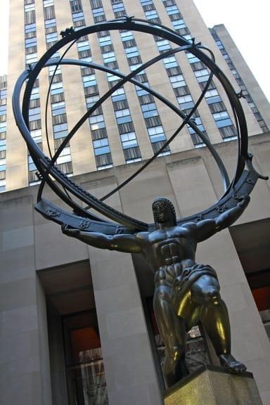 Rockefeller Center Statue