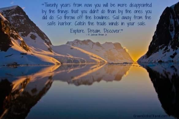 Inspirational_Travel_Quotes, Explore Dream Discover