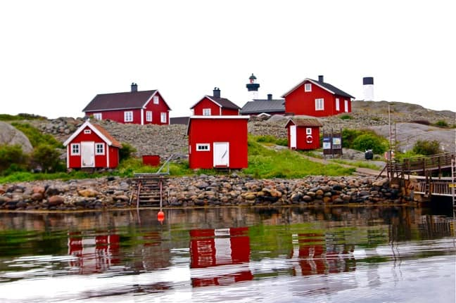 Historic Village & LIghthouse in Kosterhavet National Park, Sweden