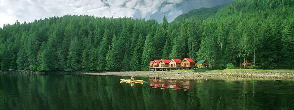Nimmo Bay Eco Resort, British Columbia