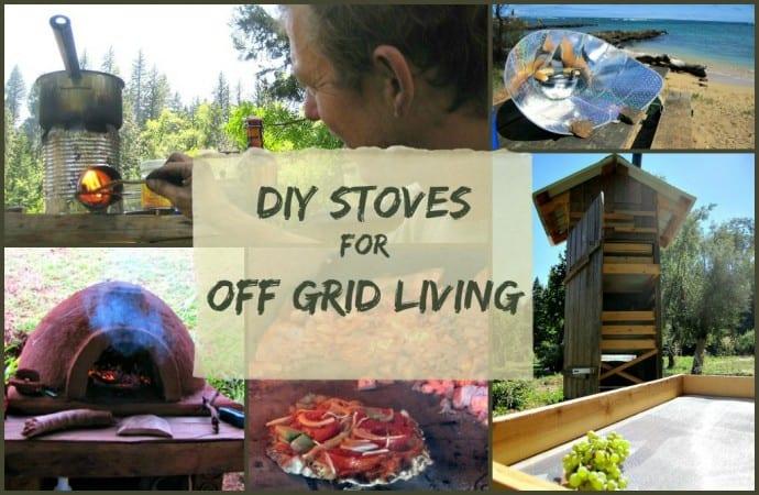 Off Grid Living - DIY Stoves