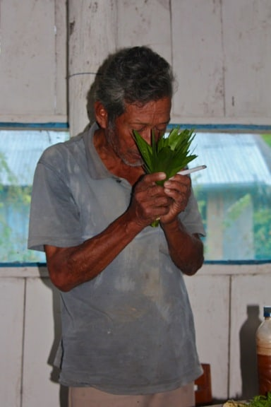 Shaman's Prayer in the Peruvian Amazon