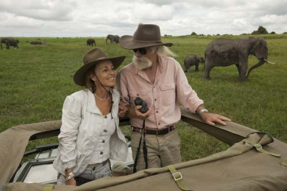 Nature: Soul of the Elephant filmmakers Dereck and Beverly Joubert