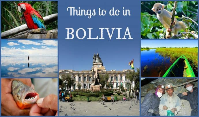 Things to do in Bolivia