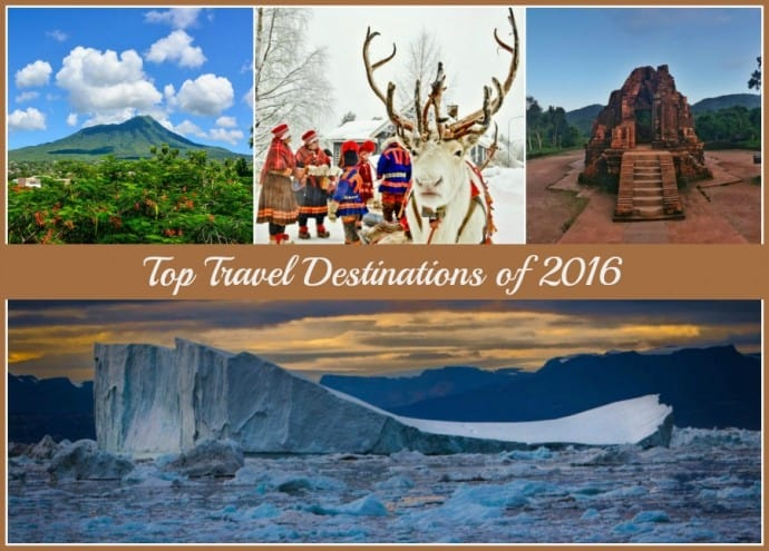 Top Travel Destinations of 2016: 35 Travel Bloggers' Picks