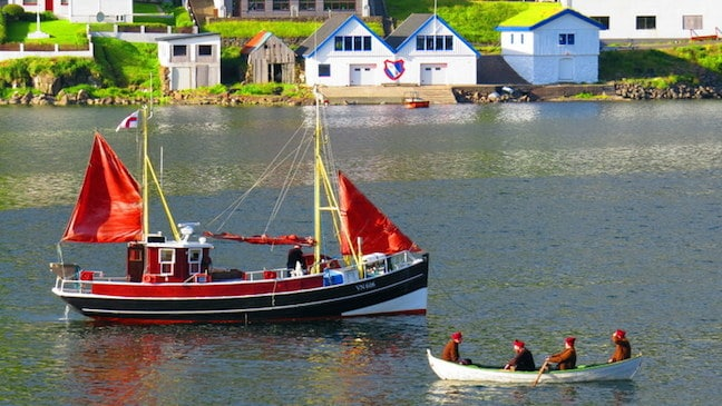 Traditional Faroese Boats