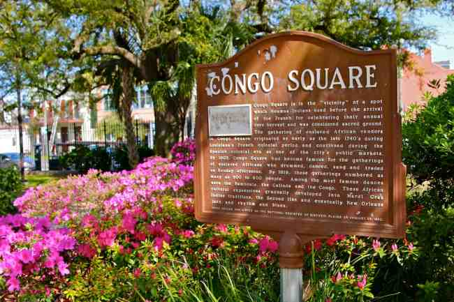 Treme New Orleans: Congo Square, the Birthplace of American Culture
