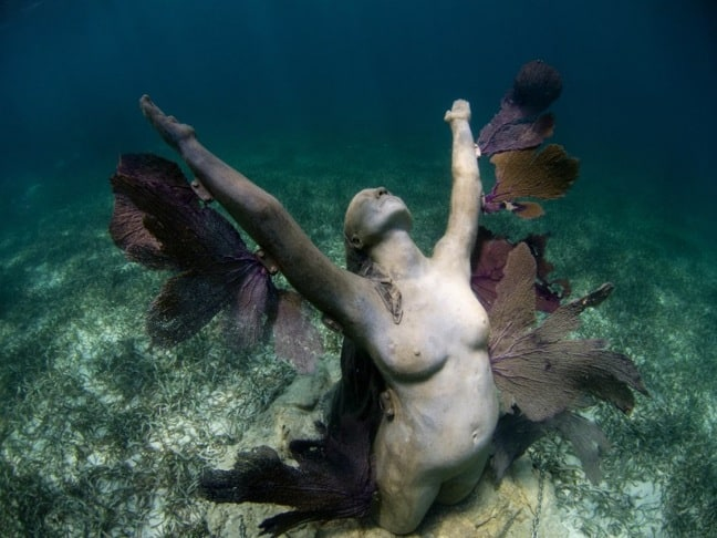 Reclamation, a.k.a. The PHoenix, at Cancun Underwater Museum
