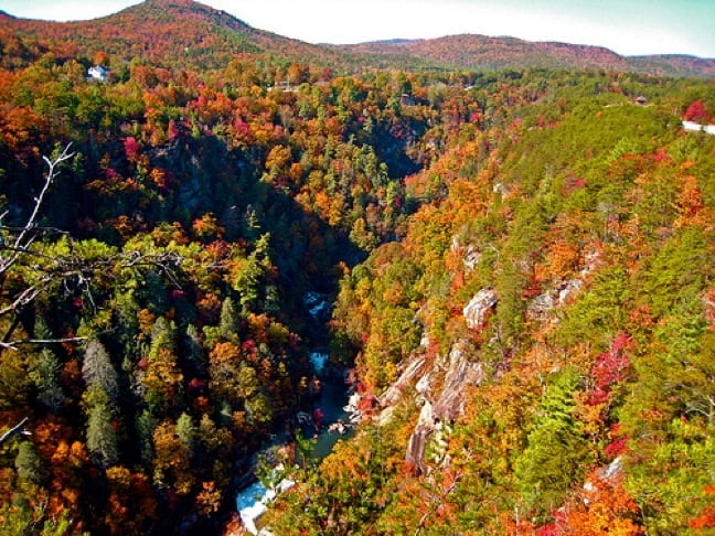 Inspiration Point, Tallulah Gorge photo by Don Esa