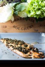Dill Butter Baked Salmon