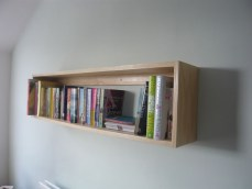 Ash bookshelf rectangle