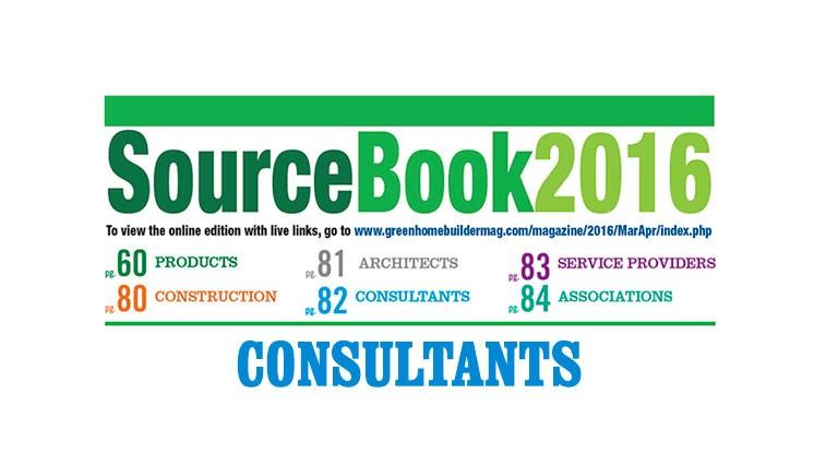 2016 Sourcebook List of Consultants