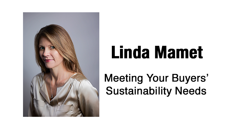 Meeting Your Buyers' Sustainability Needs