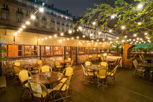 Restaurant Terrasse Paris 14 Il Cottage - Restaurant Italien | Green Hotels Paris