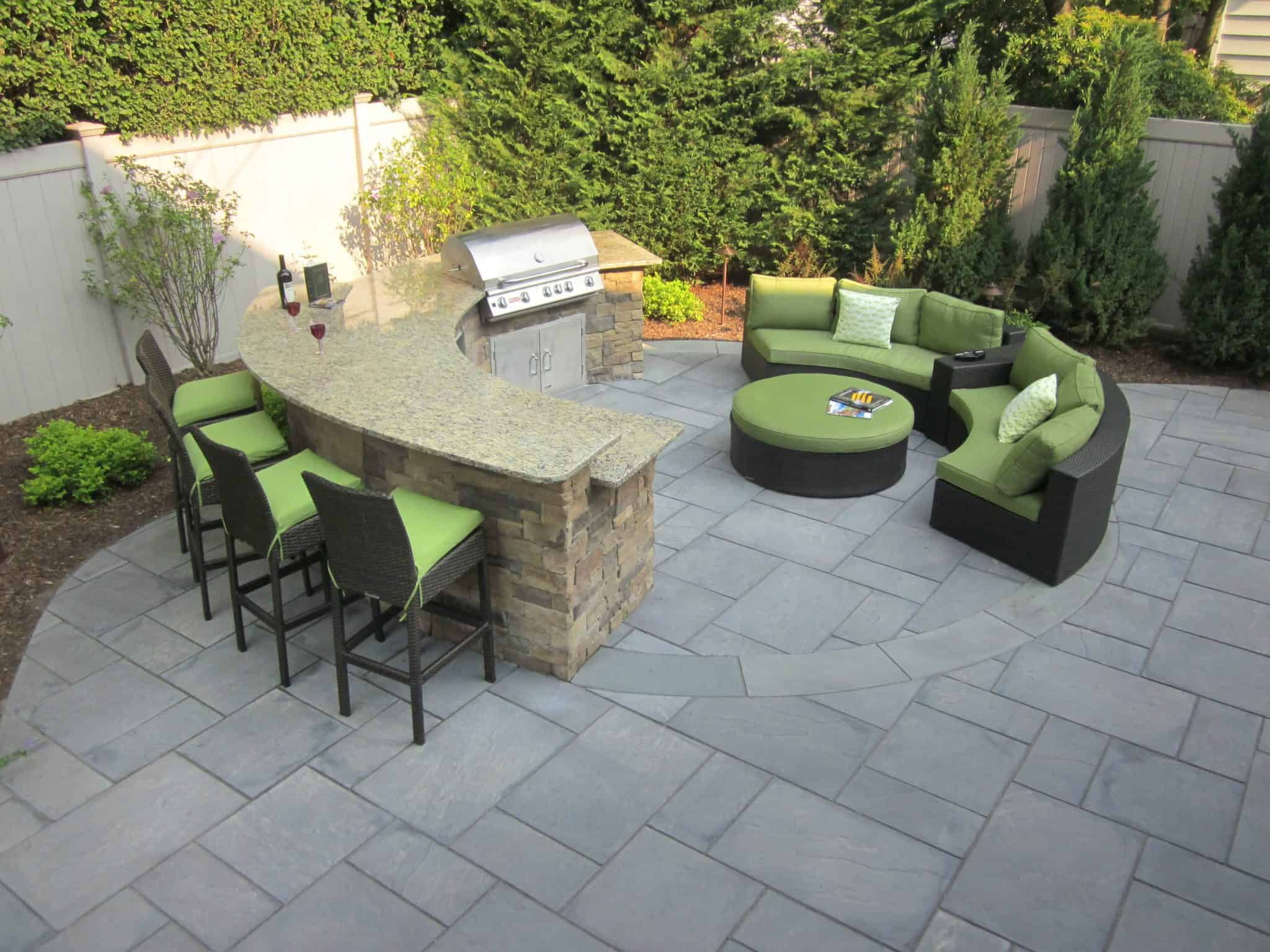 Kitchen Island Bar Height Outdoor Kitchens & Bars | Outdoor Bars Long Island