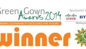Green Gown 2014 winner