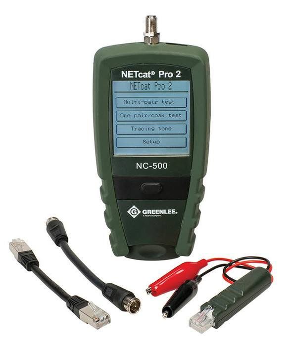 TESTER, NETcat PRO VDV WIRING (POP) - Professional Nothing Less