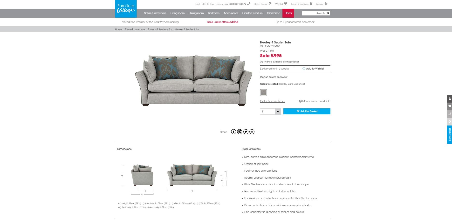 Are Furniture Village Sofas Good Quality