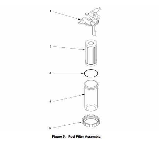 yanmar fuel filter bowl long