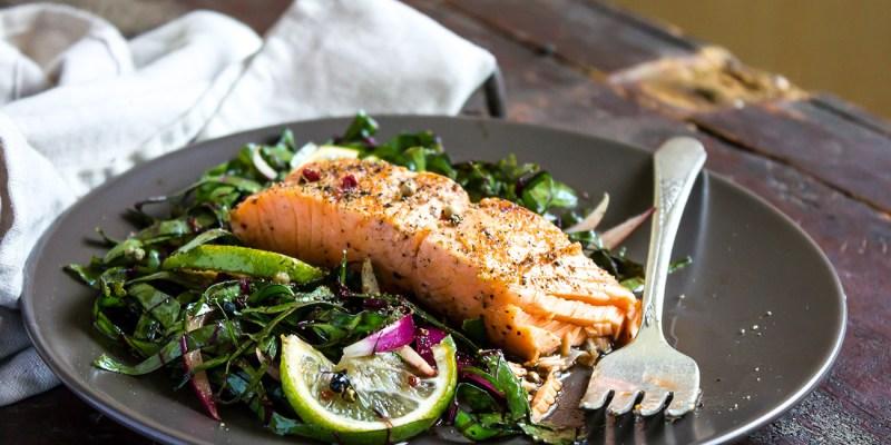 Large Of Salmon Steak Recipe