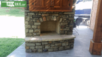 Outdoor Fireplaces | Green Okie  Oklahoma City, Oklahoma