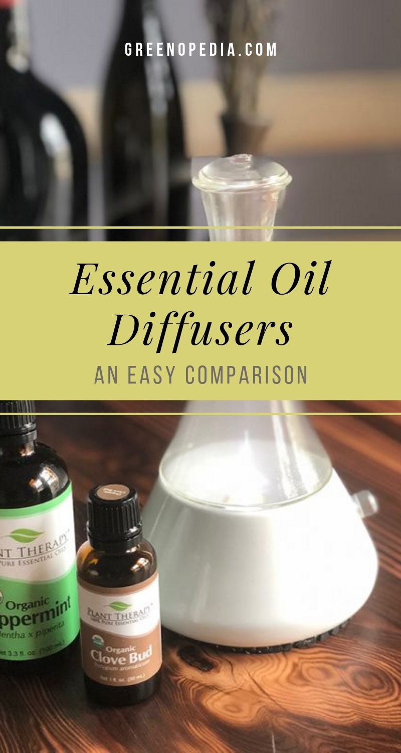 Your Easy Guide To Essential Oil Diffusers Nebulizing Or Ultrasonic Heat Or Evaporative Let S Compare Greenopedia