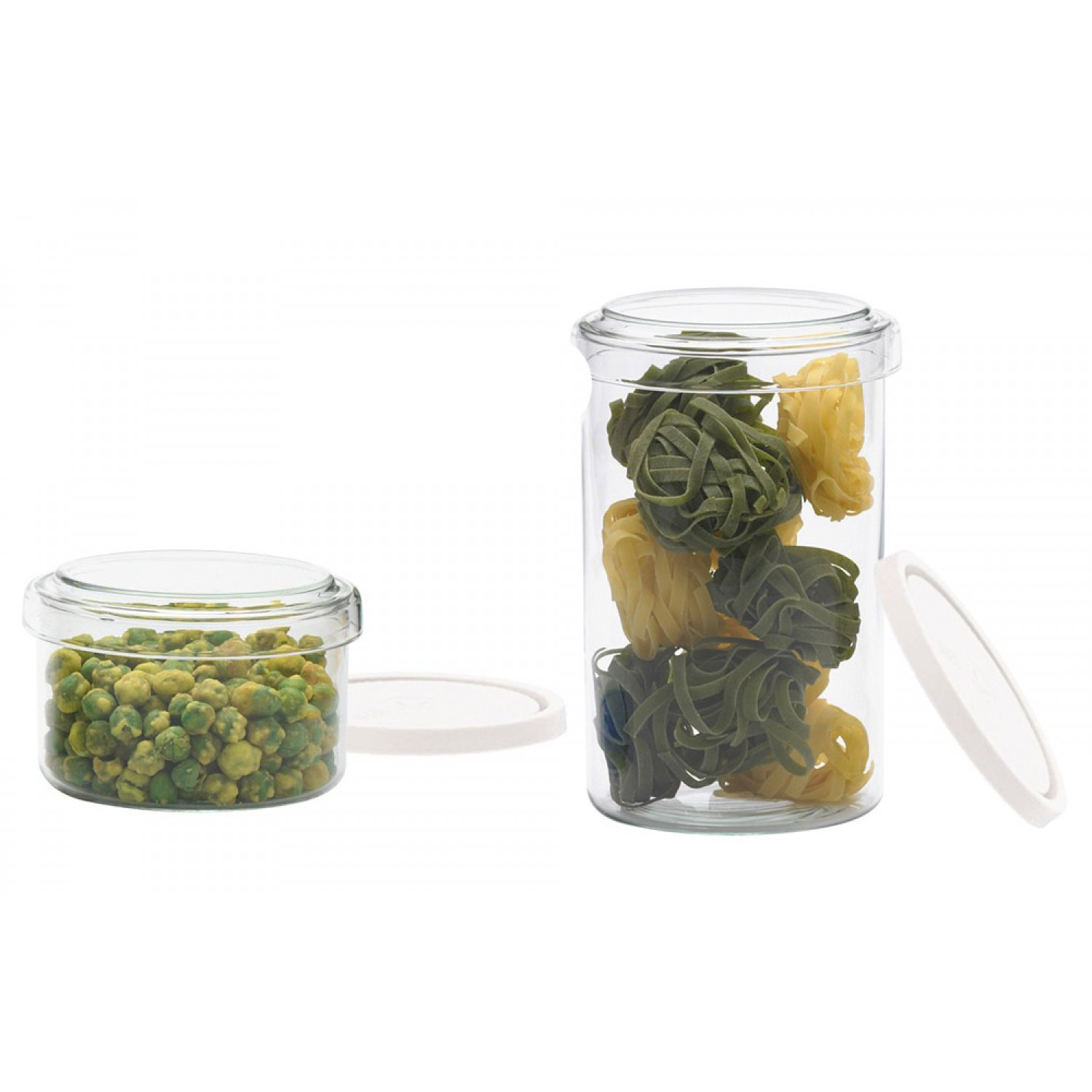 Vorratsdosen Glas Glass Jar With Glass Plastic Lid Different Sizes