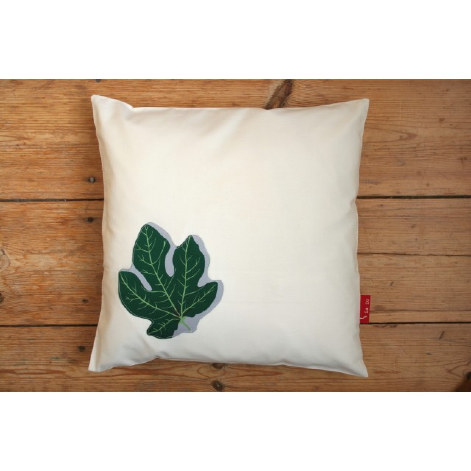 Kissen 40x40 Cushion Cover Figleaf Made Of Organic Cotton Satin With Or Without Filling 40x40 Cm