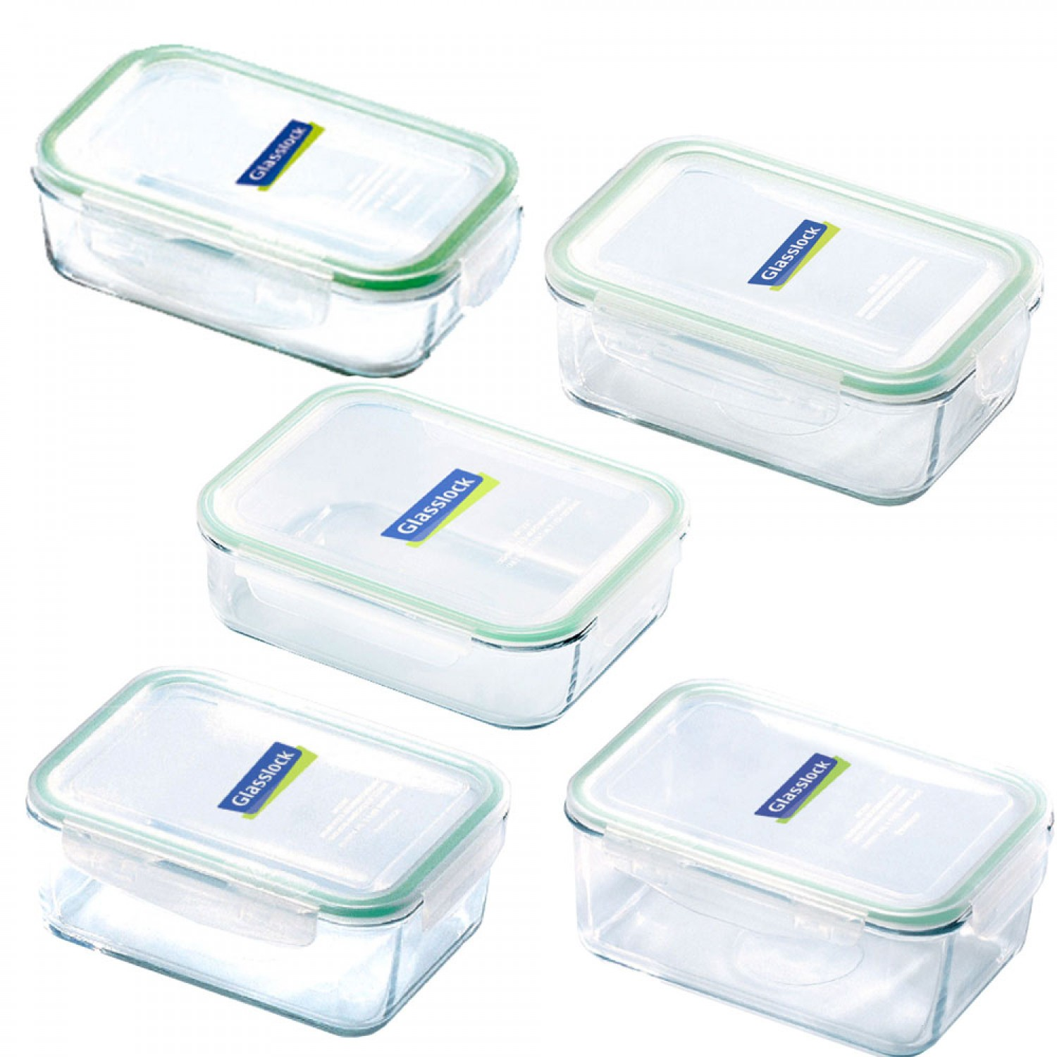 Frischhaltedosen Glas Classic Food Containers Wide Range By Glasslock Greenpicks