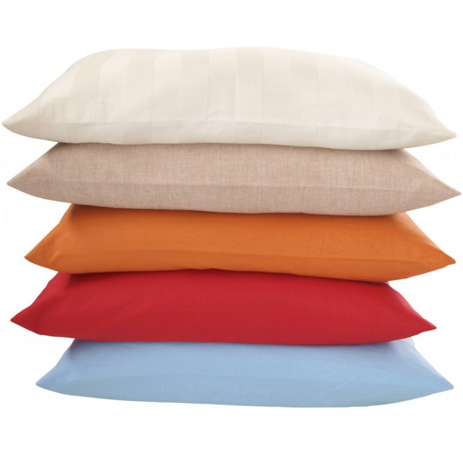 Kissenbezug 40x80 Organic Cotton Pillowcase In Various Sizes And Colours
