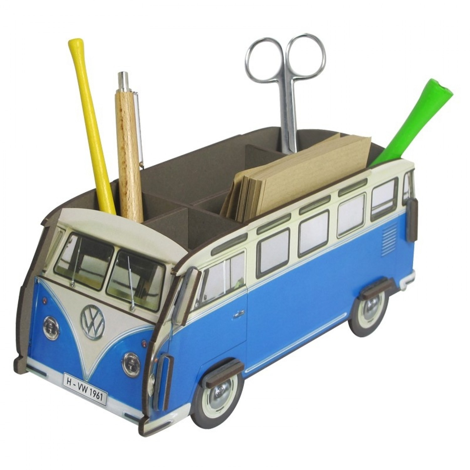 Werkhaus De Pencil Box And Organizer Vw T1samba In Various Colours