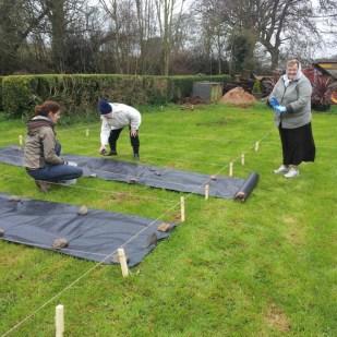 Leighlinbridge Parish Community Garden - 16th March