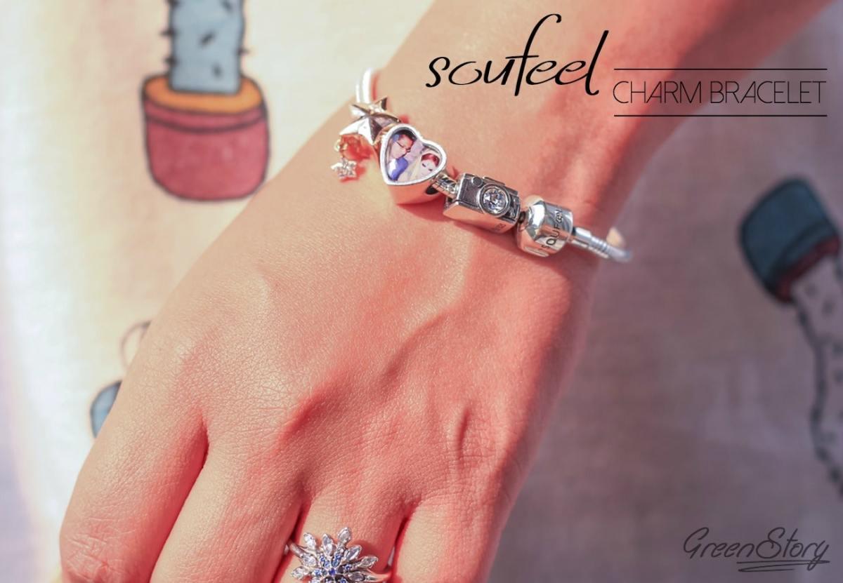 Soufeel Jewelry   925 Sterling Silver Charm Bracelet in Budget
