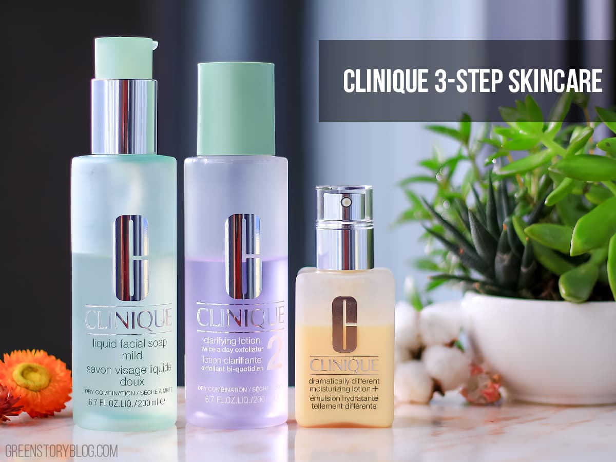 Clinique 3 Step SkinCare System | 3 Minute Twice A Day For Better Skin!?