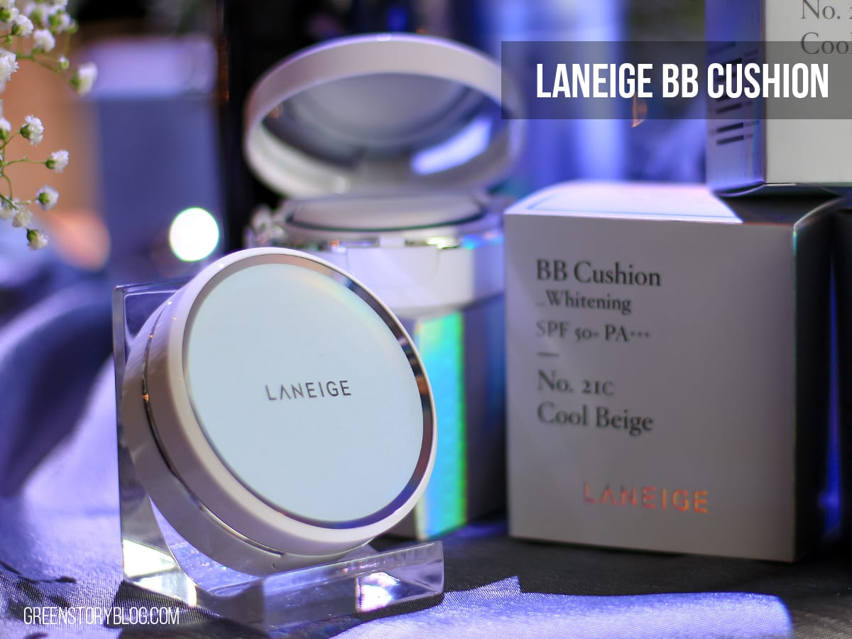 Laneige BB Cushion | Pore Control & Whitening | HG BB thingy?!