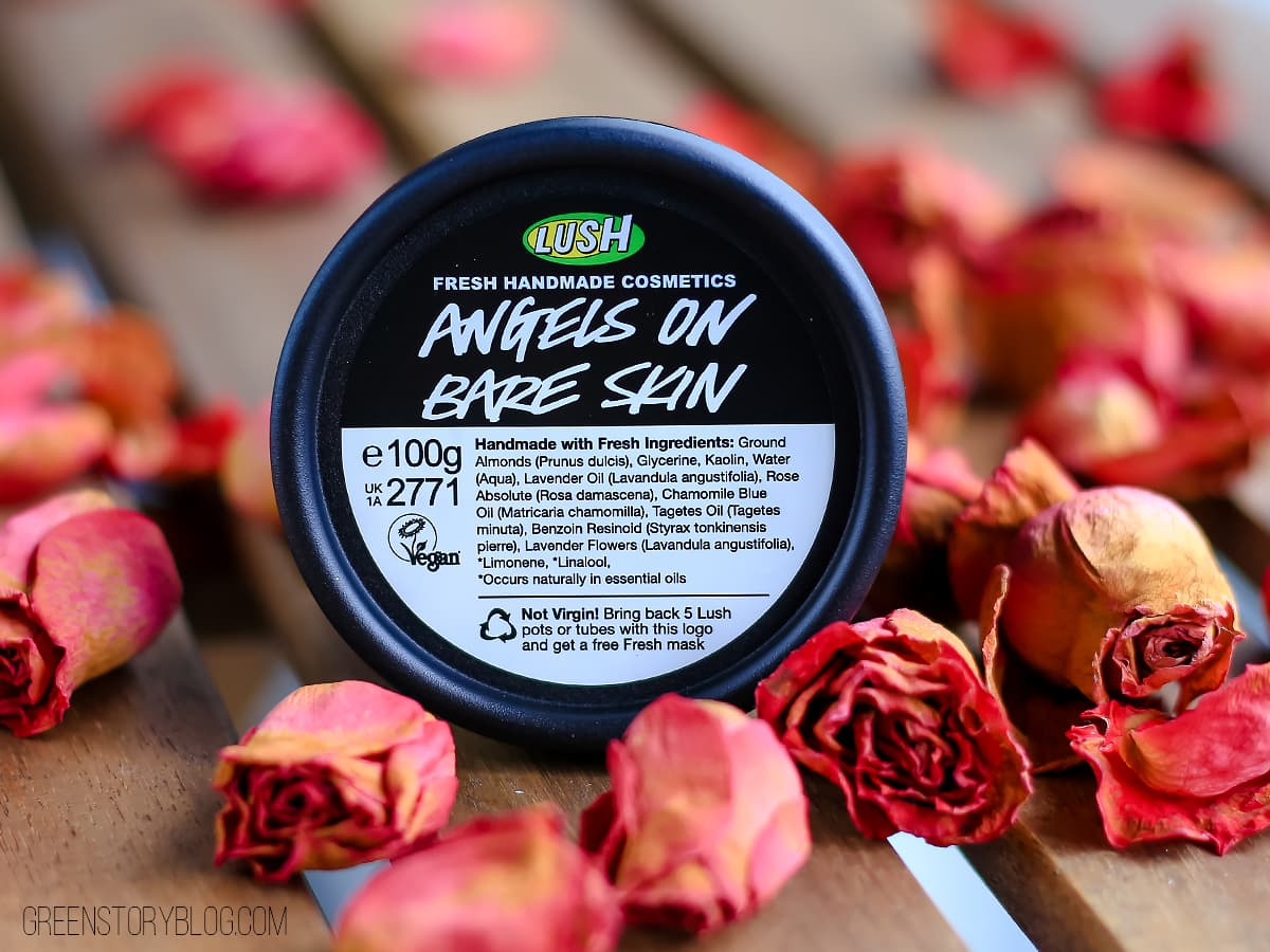 LUSH Angels On Bare Skin | A Fresh Cleanser for Face & Body