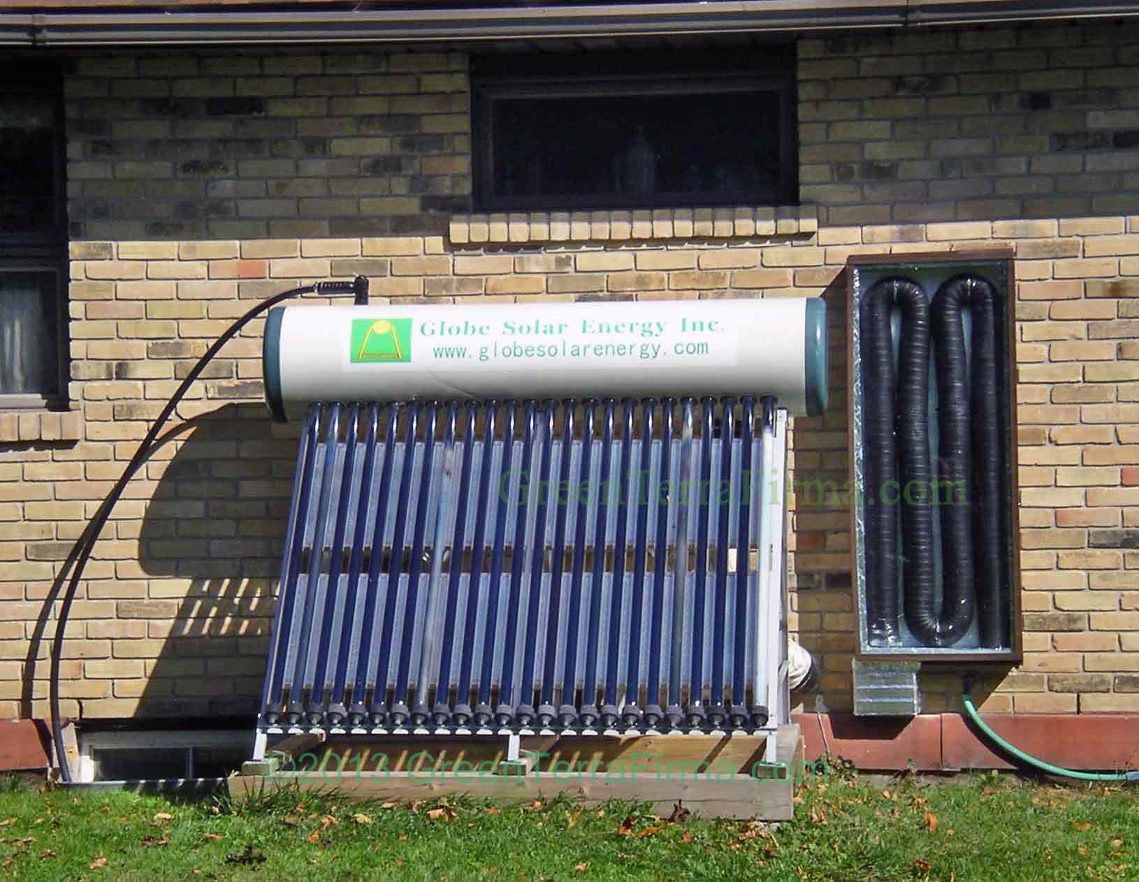 Homemade Pool Water Heater Diy Solar Air Heating