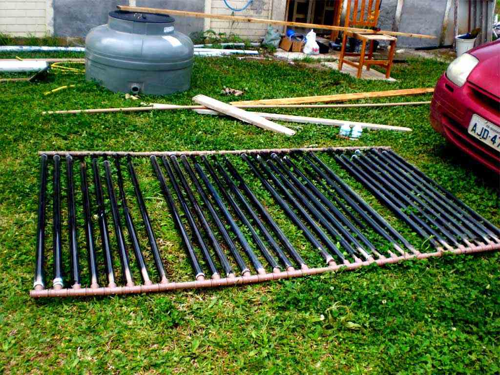 Homemade Pool Water Heater Diy Solar Pool Heater Simple Solar Pool Heater With Diy