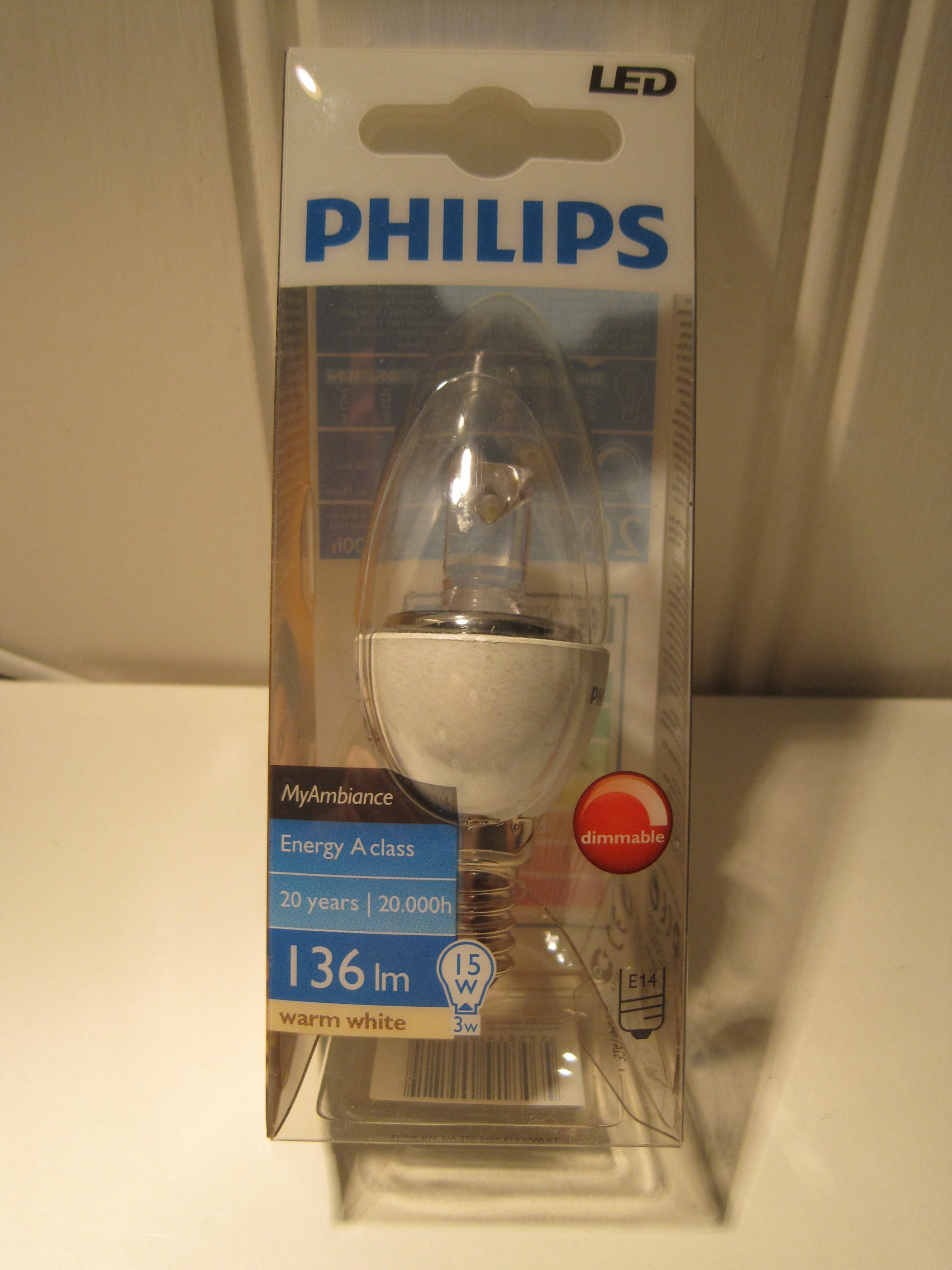 E14 Led Philips Warm White Led Review 2 Greenwashing Lamps