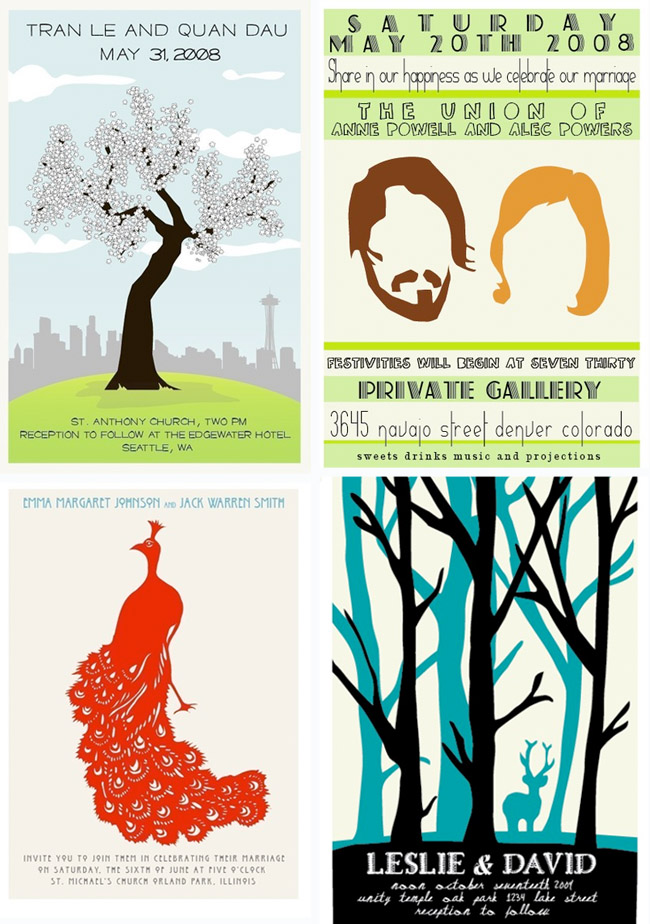 Wedding Invitations as a Poster